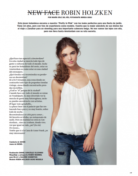 Vanidad New Face February 2014