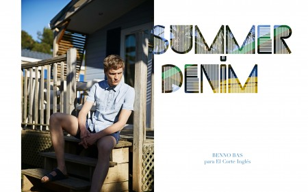 Benno Bas in Boy Summer Denim for El Corte Ingles