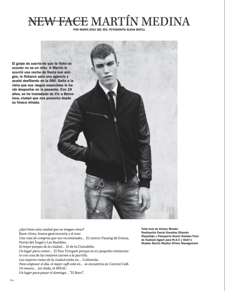 Vanidad Magazine October 2013